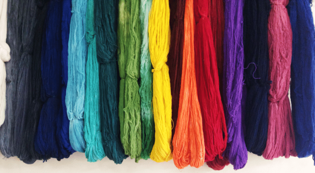 Dyed Cotton Yarns